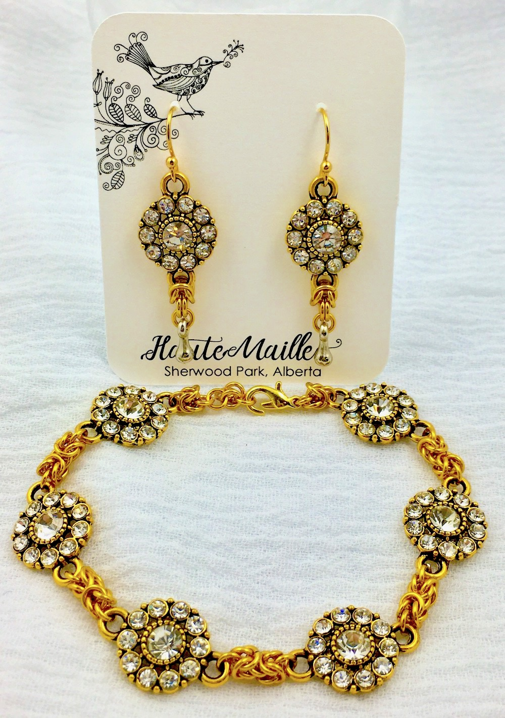 Chainmaille jewelry by Hautemaille.